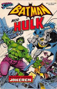 Cover Thumbnail for Supersolo (Interpresse, 1980 series) #9 - Batman mod Hulk