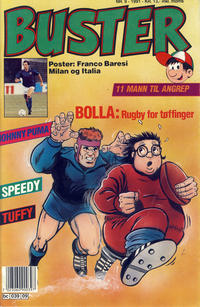 Cover Thumbnail for Buster (Semic, 1984 series) #9/1991