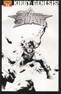 "Cover Thumbnail for Kirby: Genesis - Silver Star (Dynamite Entertainment, 2011 series) #1 [""Black & White"" Retailer Incentive]"