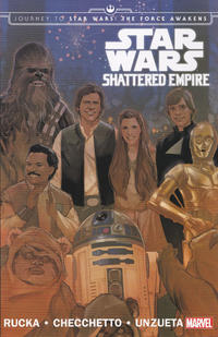 Cover Thumbnail for Star Wars: Journey to Star Wars: The Force Awakens - Shattered Empire (Marvel, 2015 series)
