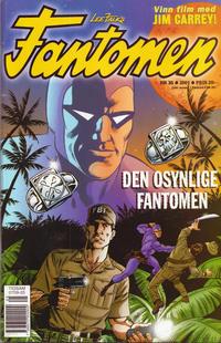 Cover Thumbnail for Fantomen (Egmont, 1997 series) #25/2001