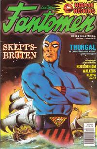 Cover Thumbnail for Fantomen (Egmont, 1997 series) #24/2001