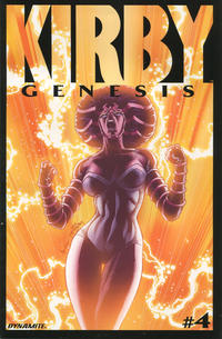 Cover Thumbnail for Kirby: Genesis (Dynamite Entertainment, 2011 series) #4 [Jack Herbert Cover]