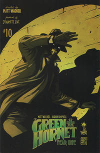 Cover Thumbnail for Green Hornet: Year One (Dynamite Entertainment, 2010 series) #10 [Francesco Francavilla Chase Cover (1-in-10)]