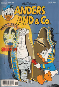 Cover Thumbnail for Anders And & Co. (Egmont, 1949 series) #11/1998