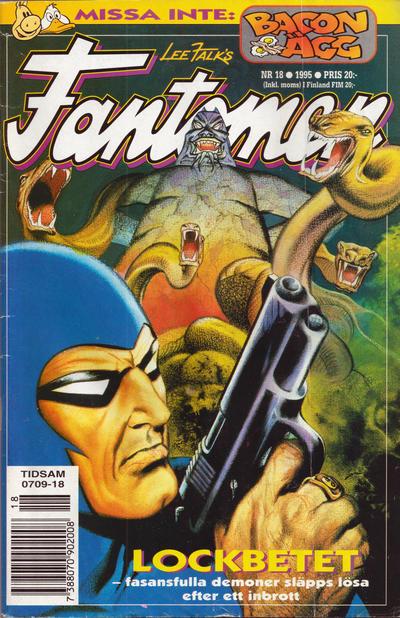 Cover for Fantomen (Semic, 1963 series) #18/1995