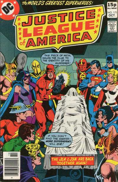 Cover for Justice League of America (DC, 1960 series) #171 [Whitman Variant]
