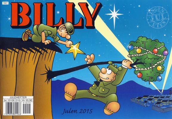Cover for Billy julehefte (Hjemmet / Egmont, 1970 series) #2015 [Bokhandelutgave]