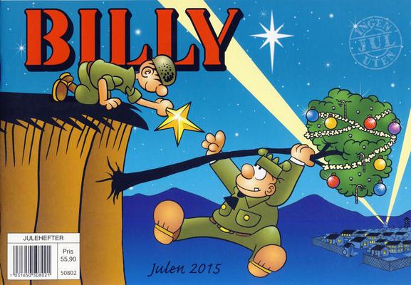 Cover for Billy julehefte (Hjemmet / Egmont, 1970 series) #2015