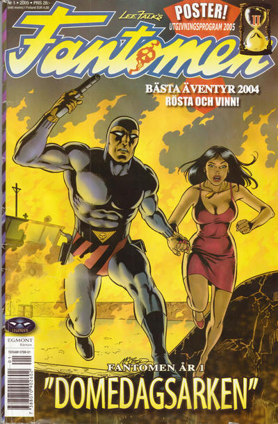 Cover for Fantomen (Egmont, 1997 series) #1/2005