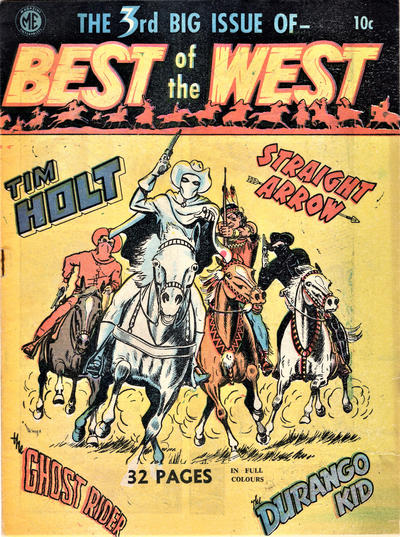 Cover for Best in the West (Cartoon Art, 1951 series) #3