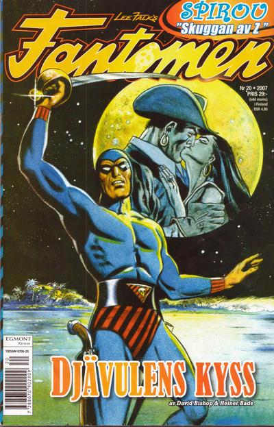 Cover for Fantomen (Egmont, 1997 series) #20/2007