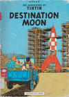 Cover for The Adventures of Tintin (Little, Brown, 1974 series) #[13] - Destination Moon