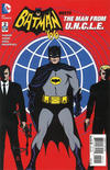 Cover for Batman '66 Meets the Man from U.N.C.L.E. (DC, 2016 series) #2