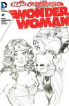 Cover for Wonder Woman (DC, 2011 series) #47 [Harley Quinn Little Black Book Amanda Conner Sketch Cover]