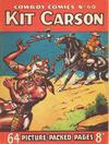 Cover for Cowboy Comics (Amalgamated Press, 1950 series) #60
