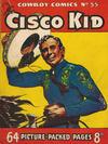 Cover for Cowboy Comics (Amalgamated Press, 1950 series) #55