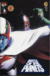 Cover for Battle of the Planets (Image, 2002 series) #1 [Dynamic Forces Wizard Authentic Blue Foil Edition]