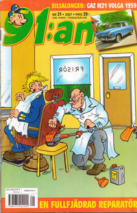 Cover Thumbnail for 91:an (Egmont, 1997 series) #21/2007