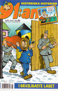 Cover Thumbnail for 91:an (Egmont, 1997 series) #8/2007