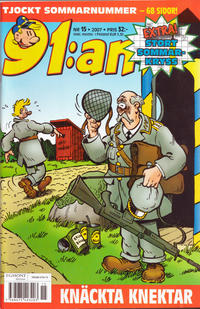 Cover Thumbnail for 91:an (Egmont, 1997 series) #15/2007