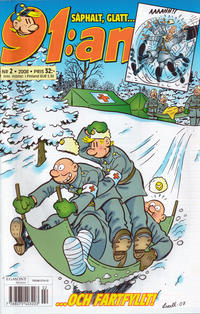 Cover Thumbnail for 91:an (Egmont, 1997 series) #2/2008