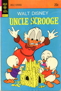 Cover Thumbnail for Uncle Scrooge (Western, 1963 series) #109 [Gold Key - No Fun Catalog]