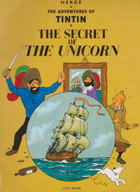 Cover Thumbnail for The Adventures of Tintin (Little, Brown, 1974 series) #[3] - The Secret of the Unicorn