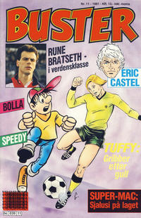 Cover Thumbnail for Buster (Semic, 1984 series) #11/1991