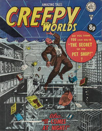 Cover Thumbnail for Creepy Worlds (Alan Class, 1962 series) #142