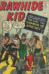 Cover for The Rawhide Kid (Marvel, 1960 series) #27