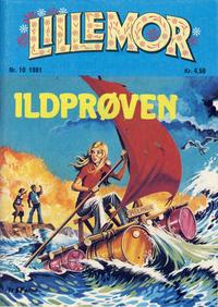 Cover Thumbnail for Lillemor (Serieforlaget / Se-Bladene / Stabenfeldt, 1969 series) #10/1981