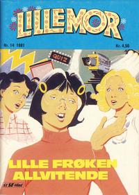 Cover Thumbnail for Lillemor (Serieforlaget / Se-Bladene / Stabenfeldt, 1969 series) #14/1981