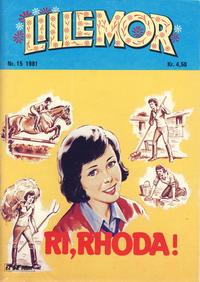 Cover Thumbnail for Lillemor (Serieforlaget / Se-Bladene / Stabenfeldt, 1969 series) #15/1981