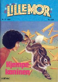 Cover Thumbnail for Lillemor (Serieforlaget / Se-Bladene / Stabenfeldt, 1969 series) #17/1981