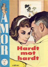 Cover Thumbnail for Amor (Serieforlaget / Se-Bladene / Stabenfeldt, 1961 series) #21/1962