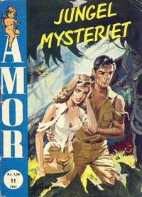Cover Thumbnail for Amor (Serieforlaget / Se-Bladene / Stabenfeldt, 1961 series) #11/1961