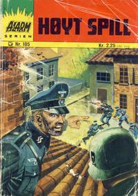 Cover Thumbnail for Alarm (Illustrerte Klassikere / Williams Forlag, 1964 series) #105