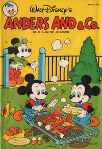 Cover Thumbnail for Anders And & Co. (Egmont, 1949 series) #28/1981