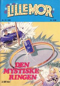 Cover Thumbnail for Lillemor (Serieforlaget / Se-Bladene / Stabenfeldt, 1969 series) #22/1981