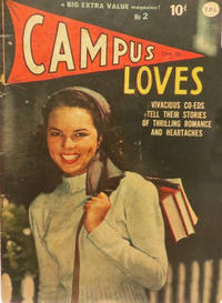Cover Thumbnail for Campus Loves (Bell Features, 1950 series) #2
