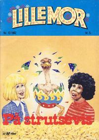 Cover Thumbnail for Lillemor (Serieforlaget / Se-Bladene / Stabenfeldt, 1969 series) #13/1982