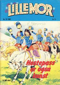 Cover Thumbnail for Lillemor (Serieforlaget / Se-Bladene / Stabenfeldt, 1969 series) #24/1982