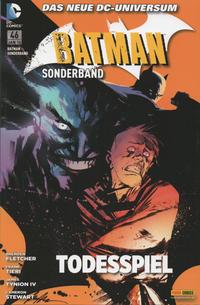 Cover Thumbnail for Batman Sonderband (Panini Deutschland, 2004 series) #46 - Todesspiel