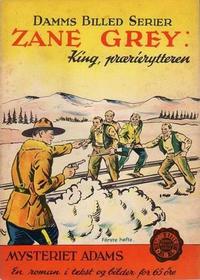 Cover Thumbnail for Damms Billedserier [Damms Billed-serier] (N.W. Damm & Søn [Damms Forlag], 1941 series) #1/1941