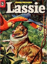 Cover Thumbnail for Lassie (Serieforlaget / Se-Bladene / Stabenfeldt, 1959 series) #3/1960