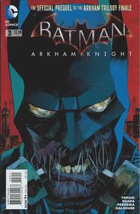 Cover Thumbnail for Batman: Arkham Knight (DC, 2015 series) #3 [Dan Panosian Cover]