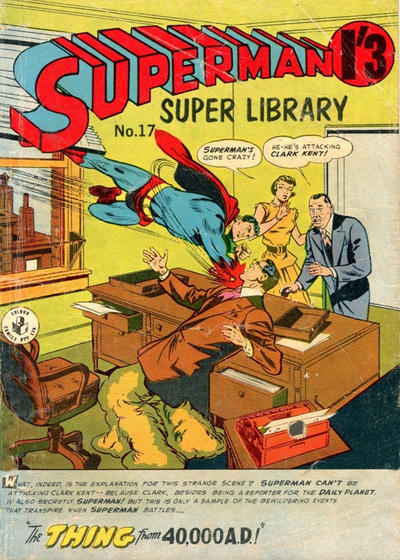 Cover for Superman Super Library (K. G. Murray, 1964 series) #17