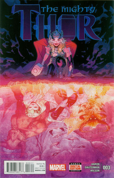 Cover for Mighty Thor (Marvel, 2016 series) #3