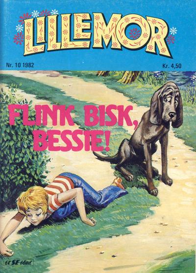 Cover for Lillemor (Serieforlaget / Se-Bladene / Stabenfeldt, 1969 series) #10/1982
